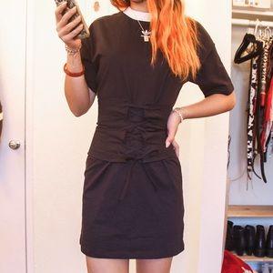 Aritzia lace up corset